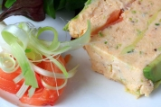 Smoked Salmon Avocado Terrine